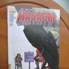 Cómics: MASACRE EL MEJOR COMIC DEL MUNDO Nº 3 - MARVEL. Lote 245992860