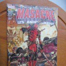 Cómics: MASACRE EL MEJOR COMIC DEL MUNDO Nº 4 - MARVEL - 25 ANIVERSARIO. Lote 245993365