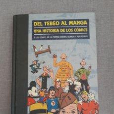 Cómics: DEL TEBEO AL MANGA. TOMO 1.. Lote 246083105