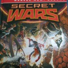 Cómics: CÓMIC MARVEL NOW DELUXE SECRET WARS INTEGRAL NUEVO. Lote 246127435