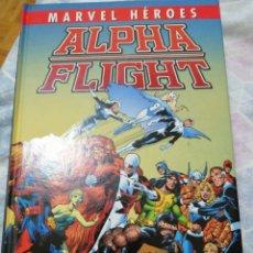 Cómics: ALPHA FLIGHT MARVEL HEROES. Lote 246143535