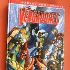 Cómics: LOS VENGADORES DE MARK WAID - LOS SIETE MAGNIFICOS - MARVEL NOW! DE LUXE 2020 - NUEVO.. Lote 246154015