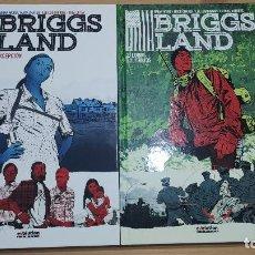Cómics: BRIGGS LAND (COMPLETA), DE PANINI COMICS (BRIAN WOOD & MACK CHATTER). Lote 246160875