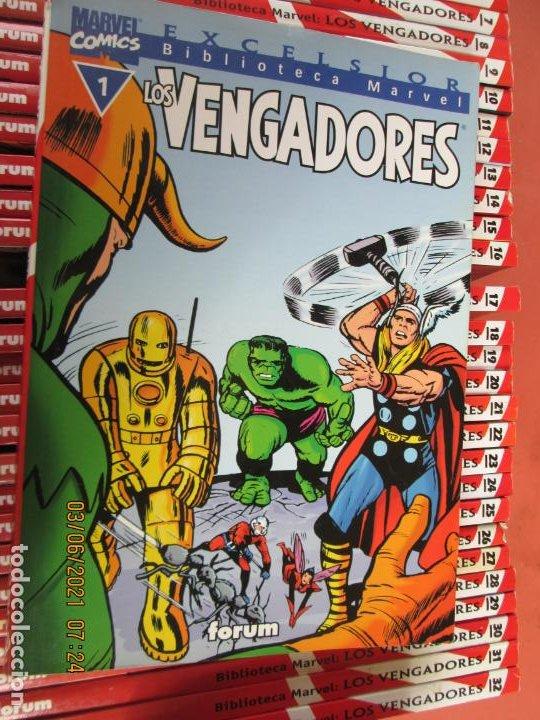 Cómics: LOS VENGADORES MARVEL COMICS COLECCION COMPLETA 32 VOLUMENES PLANETA -1999 - Foto 5 - 246161380