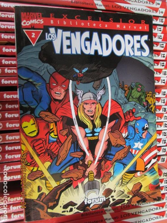 Cómics: LOS VENGADORES MARVEL COMICS COLECCION COMPLETA 32 VOLUMENES PLANETA -1999 - Foto 6 - 246161380