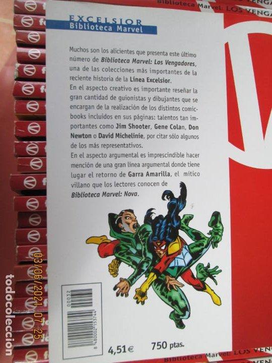 Cómics: LOS VENGADORES MARVEL COMICS COLECCION COMPLETA 32 VOLUMENES PLANETA -1999 - Foto 8 - 246161380