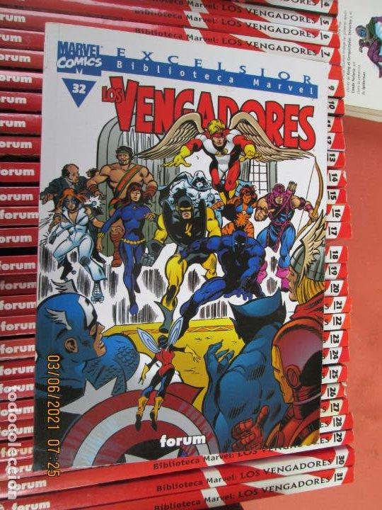 Cómics: LOS VENGADORES MARVEL COMICS COLECCION COMPLETA 32 VOLUMENES PLANETA -1999 - Foto 9 - 246161380