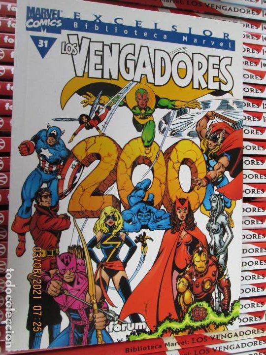 Cómics: LOS VENGADORES MARVEL COMICS COLECCION COMPLETA 32 VOLUMENES PLANETA -1999 - Foto 10 - 246161380
