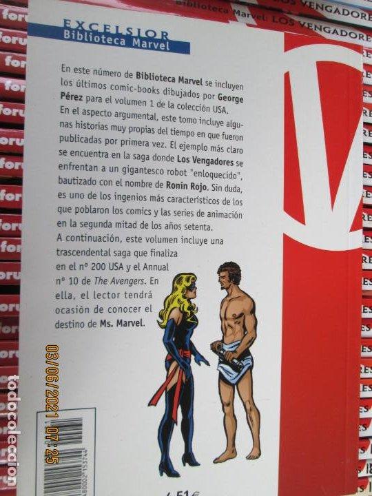 Cómics: LOS VENGADORES MARVEL COMICS COLECCION COMPLETA 32 VOLUMENES PLANETA -1999 - Foto 11 - 246161380