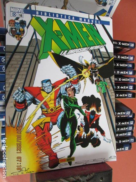 Cómics: X-MEN BIBLIOTECA COLECCION COMPLETA 28 VOLUMENES MARVEL PANINI -2006 - Foto 2 - 246162810