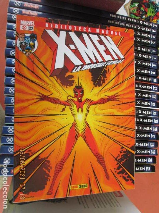 Cómics: X-MEN BIBLIOTECA COLECCION COMPLETA 28 VOLUMENES MARVEL PANINI -2006 - Foto 3 - 246162810