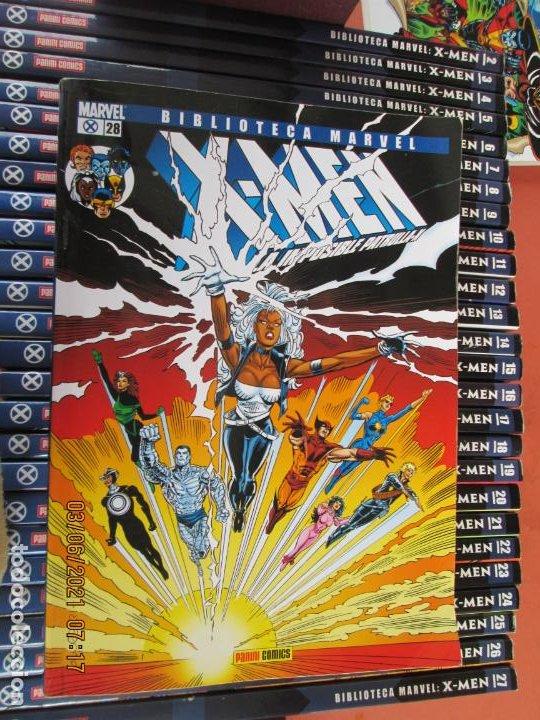 Cómics: X-MEN BIBLIOTECA COLECCION COMPLETA 28 VOLUMENES MARVEL PANINI -2006 - Foto 4 - 246162810