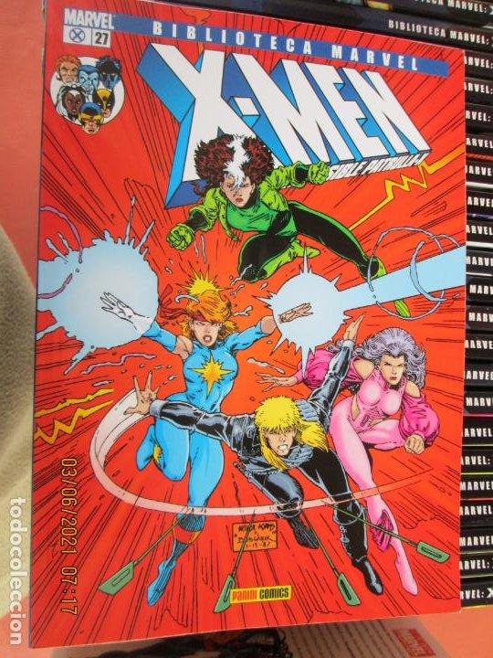 Cómics: X-MEN BIBLIOTECA COLECCION COMPLETA 28 VOLUMENES MARVEL PANINI -2006 - Foto 5 - 246162810