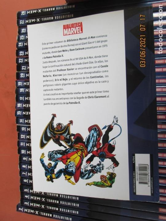 Cómics: X-MEN BIBLIOTECA COLECCION COMPLETA 28 VOLUMENES MARVEL PANINI -2006 - Foto 6 - 246162810