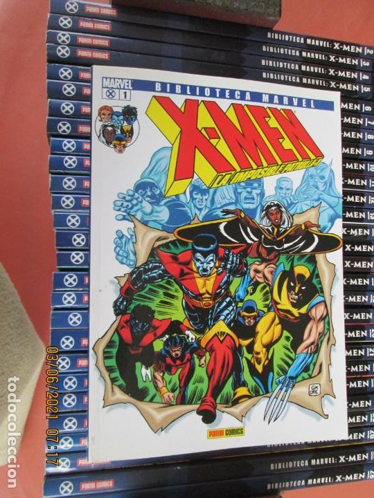 Cómics: X-MEN BIBLIOTECA COLECCION COMPLETA 28 VOLUMENES MARVEL PANINI -2006 - Foto 8 - 246162810