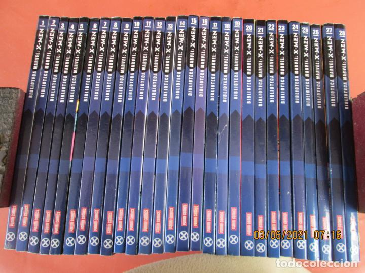 X-MEN BIBLIOTECA COLECCION COMPLETA 28 VOLUMENES MARVEL PANINI -2006 (Tebeos y Comics - Panini - Marvel Comic)