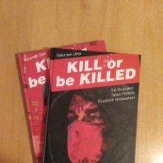 Cómics: KILL OR BE KILLED 1 - 2.ED BRUBAKER /SEAN PHILLIPS. Lote 246165185