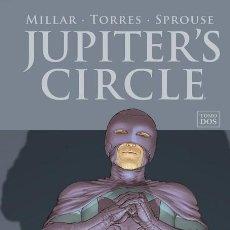 Cómics: JUPITER'S CIRCLE 2 - PANINI / IMAGE / MILLARWORLD / TAPA DURA. Lote 246256245