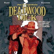 Cómics: DEADWOOD DICK 1 : NEGRO COMO LA NOCHE, ROJO COMO LA SANGRE - PANINI / BONELLI / TAPA DURA. Lote 246463385