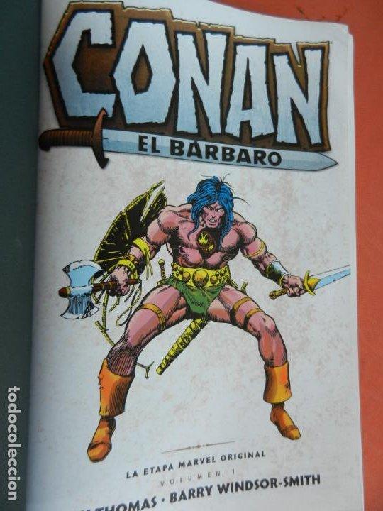 CONAN EL BARBARO - VOLUMEN 1 - LA ETAPA MARVEL ORIGINAL - MARVEL OMNIBUS 2018 - NUEVO. (Tebeos y Comics - Panini - Marvel Comic)