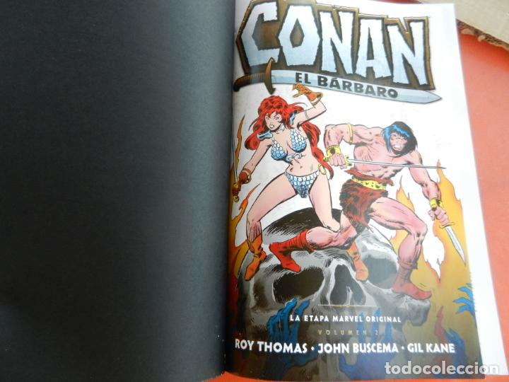 CONAN EL BARBARO - VOLUMEN 2 - LA ETAPA MARVEL ORIGINAL - MARVEL OMNIBUS 2018 - NUEVO. (Tebeos y Comics - Panini - Marvel Comic)