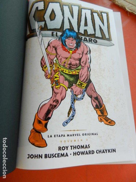 CONAN EL BARBARO - VOLUMEN 3 - LA ETAPA MARVEL ORIGINAL - MARVEL OMNIBUS 2018 - NUEVO. (Tebeos y Comics - Panini - Marvel Comic)
