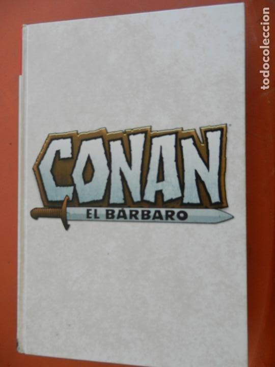 Cómics: CONAN EL BARBARO - VOLUMEN 2 - LA ETAPA MARVEL ORIGINAL - MARVEL OMNIBUS 2018 - NUEVO. - Foto 4 - 247220300