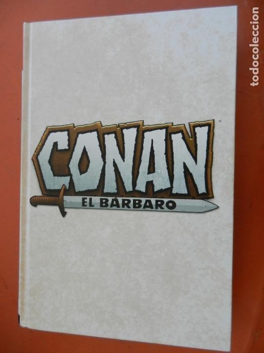 Cómics: CONAN EL BARBARO - VOLUMEN 3 - LA ETAPA MARVEL ORIGINAL - MARVEL OMNIBUS 2018 - NUEVO. - Foto 3 - 247220460