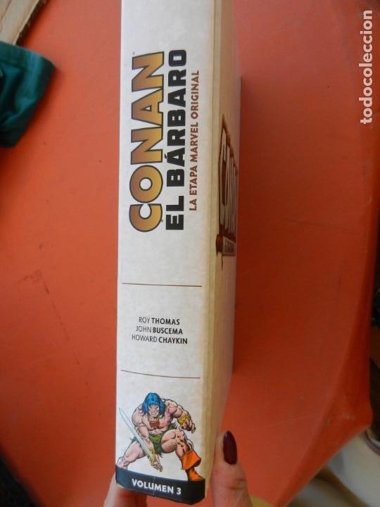 Cómics: CONAN EL BARBARO - VOLUMEN 3 - LA ETAPA MARVEL ORIGINAL - MARVEL OMNIBUS 2018 - NUEVO. - Foto 4 - 247220460