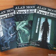 Fumetti: LOTE DE 3 TOMOS PROVIDENCE DE ALAN MOORE Y JACEN BURROWS (COLECCION COMPLETA). EDITORIAL PANINI. Lote 247383210