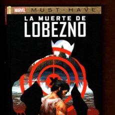 Fumetti: LA MUERTE DE LOBEZNO - PANINI / MARVEL MUST-HAVE 10 / TAPA DURA. Lote 247393340