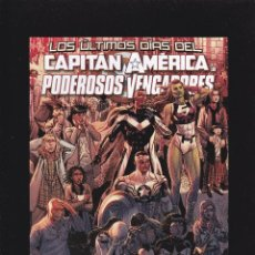 Comics: CAPITÁN AMÉRICA Y LOS PODEROSOS VENGADORES Nº 21 - LOS ÚLTIMOS DÍAS - SECRET WARS - PANINI -. Lote 247674410