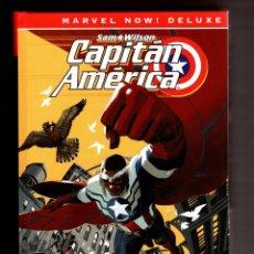 Cómics: CAPITÁN AMÉRICA DE NICK SPENCER 1 : CAPITÁN ANTI-AMÉRICA - PANINI / MARVEL NOW! DELUXE / TAPA DURA. Lote 247679090