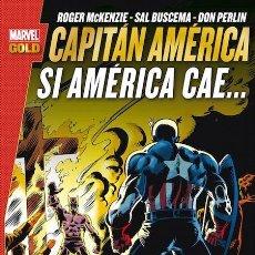 Cómics: CAPITÁN AMÉRICA : SI AMÉRICA CAE - PANINI / MARVEL GOLD / RÚSTICA. Lote 249307185