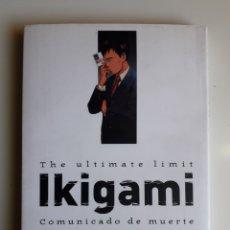 Cómics: IKIGAMI. TOMO 2. EXCELENTE ESTADO. Lote 249337725