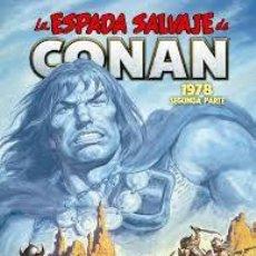 Comics: LA ESPADA SALVAJE DE CONAN 05. LA ETAPA MARVEL ORIGINAL (LIMITED EDITION). Lote 275932688