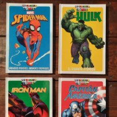 Fumetti: LOTE 4 COMICS MARVEL (SPIDER-MAN, CAPITAN AMERICA...) - MI PRIMER COMIC - PANINI KIDS, 2017 (NUEVOS). Lote 250124205