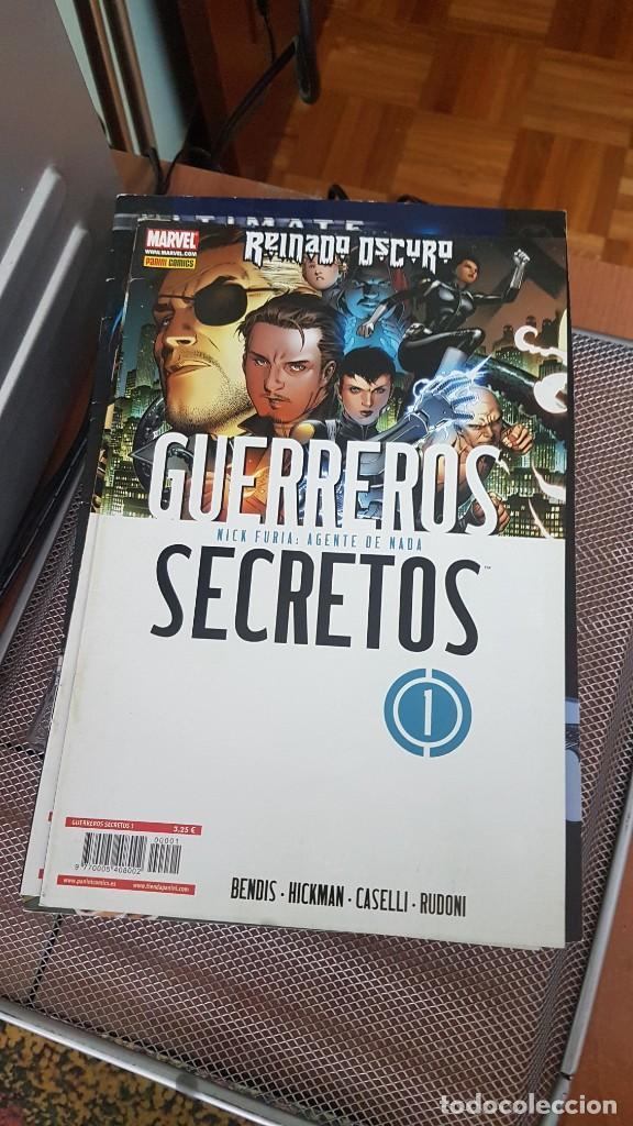 GUERREROS SECRETOS (Tebeos y Comics - Panini - Marvel Comic)