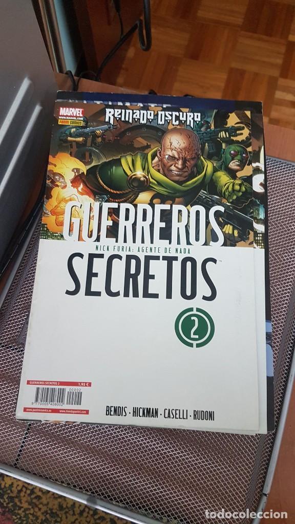 Cómics: GUERREROS SECRETOS - Foto 2 - 250271395