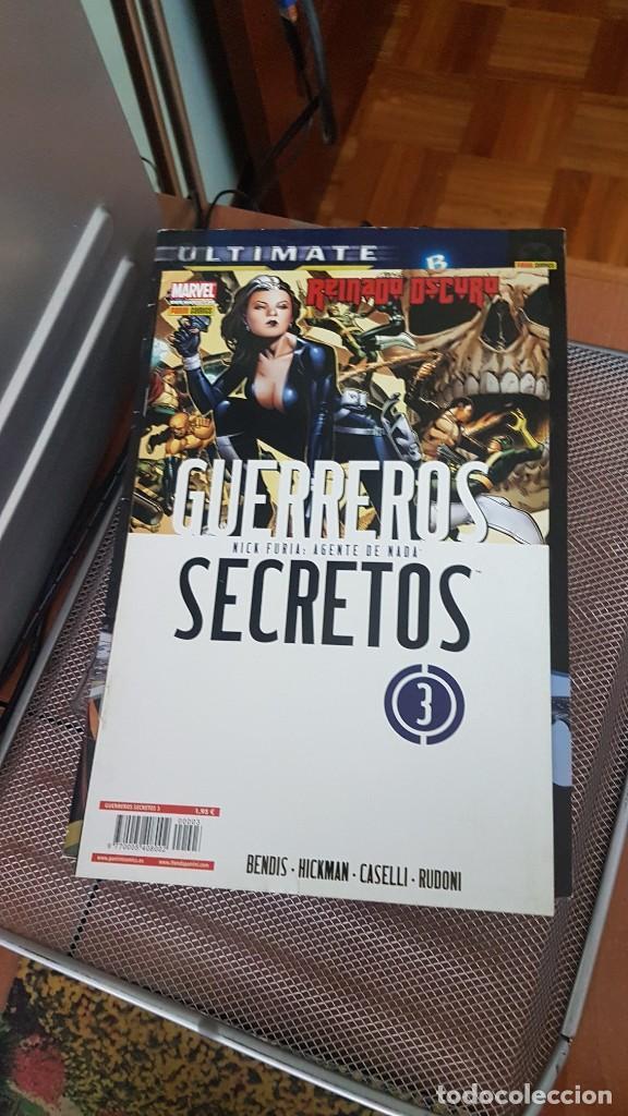 Cómics: GUERREROS SECRETOS - Foto 3 - 250271395