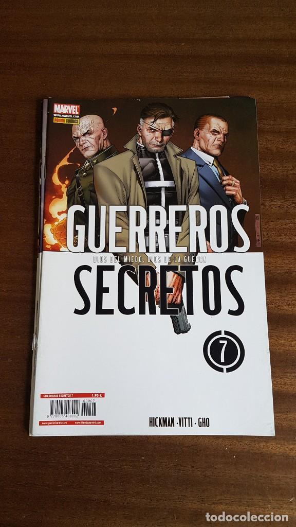 Cómics: GUERREROS SECRETOS - Foto 5 - 250271395