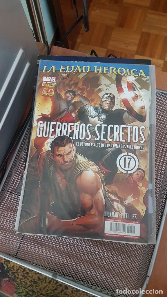 Cómics: GUERREROS SECRETOS - Foto 10 - 250271395