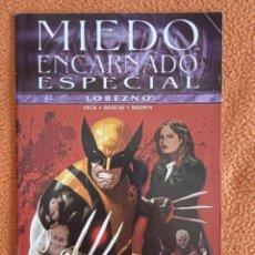 Cómics: MIEDO ENCARNADO ESPECIAL 5-LOBEZNO-PANINI. Lote 251353305