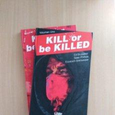 Comics: KILL OR BE KILLED 1 - 2. ED BRUBAKER /SEAN PHILLIPS. Lote 251853230