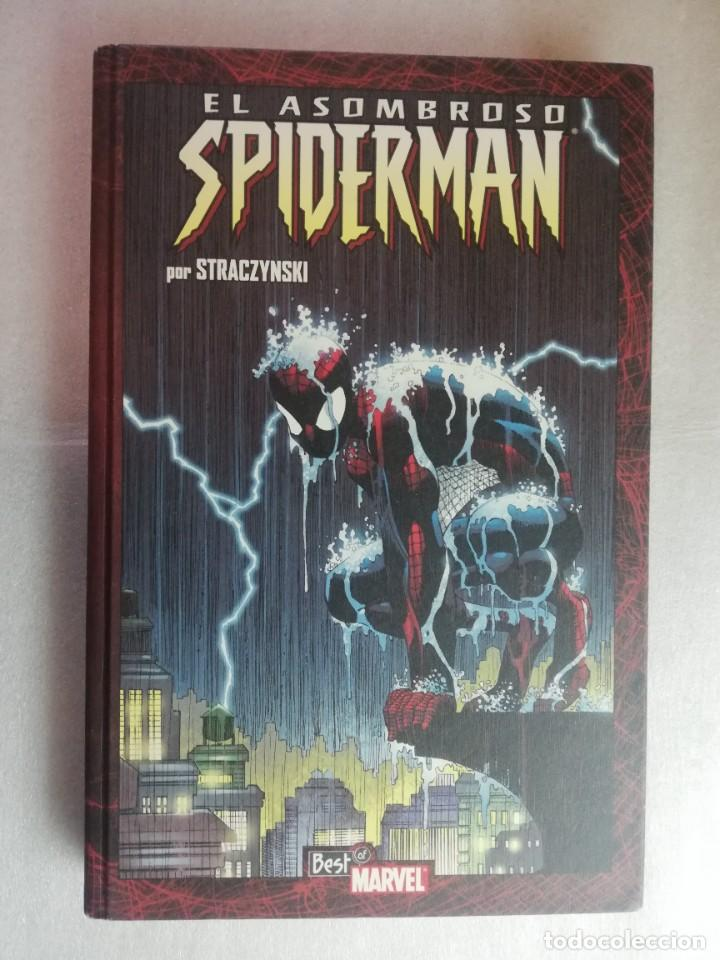 TOMO 2: EL ASOMBROSO SPIDERMAN POR STRACZYNSKI. BEST OF MARVEL. PANINI (Tebeos y Comics - Panini - Marvel Comic)