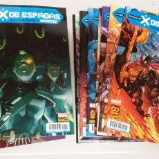 Comics: PATRULLA-X : X DE ESPADAS ¡ COMPLETA ! 22 PARTES + PRELUDIO / MARVEL - PANINI. Lote 252177480