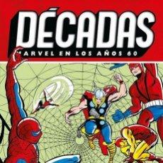 Cómics: DÉCADAS MARVEL MARVEL EN LOS AÑOS 60 SPIDERMAN EN EL UNIVERSO MARVEL. TAPA DURA. 256 PAGINAS. PANINI. Lote 253228585