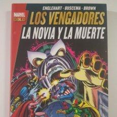 Cómics: MARVEL GOLD LOS VENGADORES - LA NOVIA Y LA MUERTE. Lote 253306655