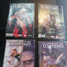 Cómics: LOTE 4 COMICS DE LOBEZNO, 1,2,3,4, DE MARVEL DE PANINI NUEVOS. Lote 253418865