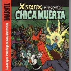 Fumetti: X-STATIX PRESENTA CHICA MUERTA (MILLIGAN / ALLRED / DRAGOTTA) PANINI - BUEN ESTADO. Lote 253474785
